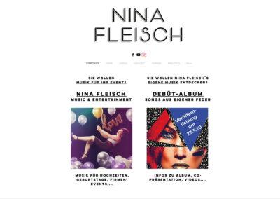 Nina Fleisch, Sänger