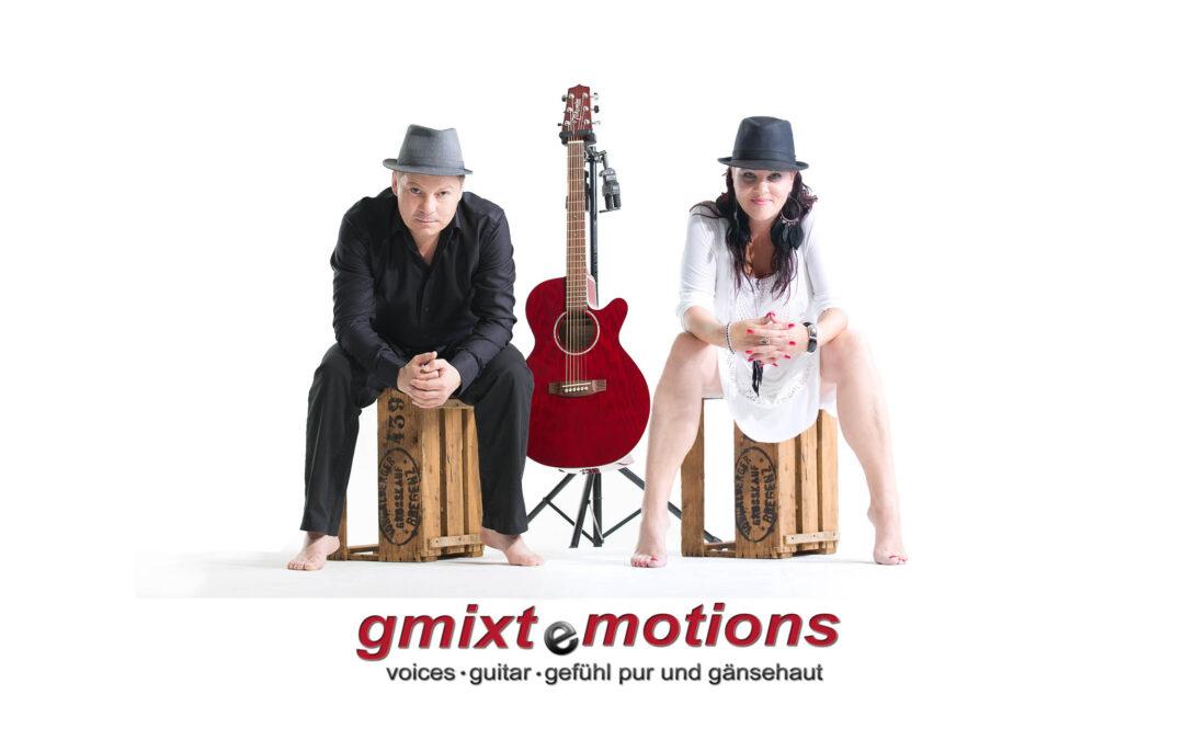 gmixtemotions, Musikduo aus Vorarlberg