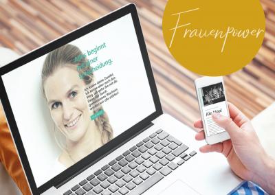 Website für Claudia Lattner, Ringana Führungskraft