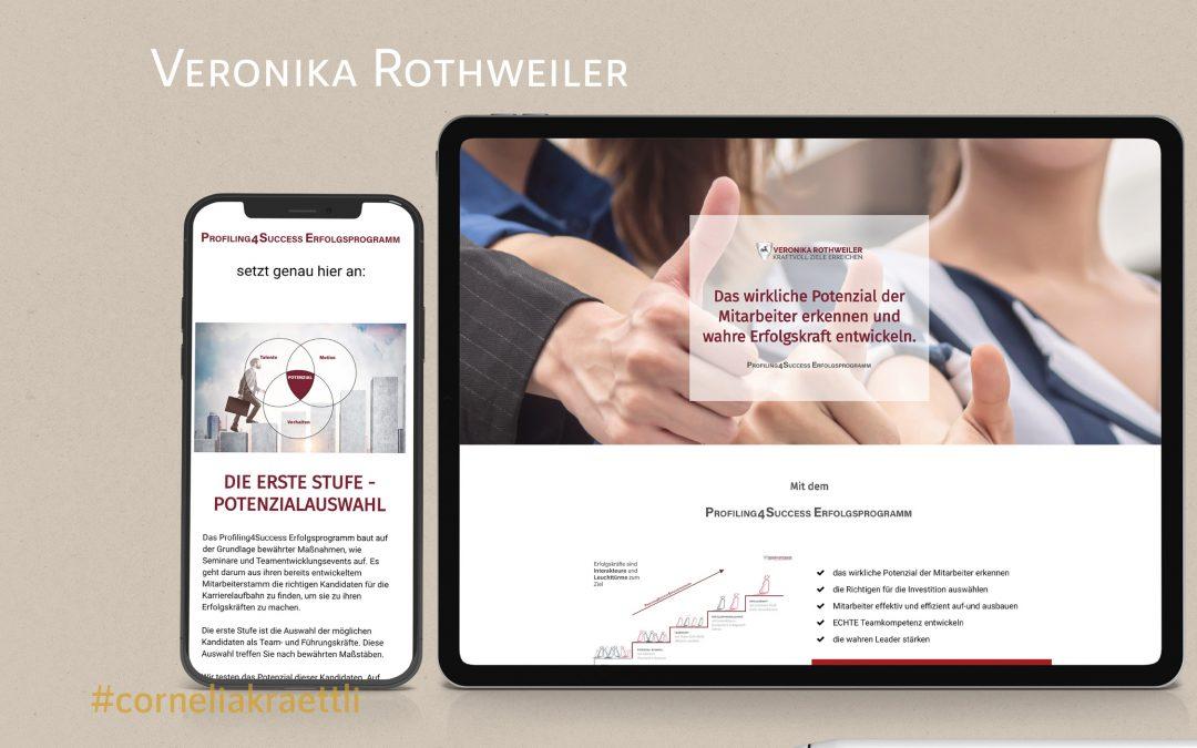 Veronika Rothweiler, Profiling4Success Coach