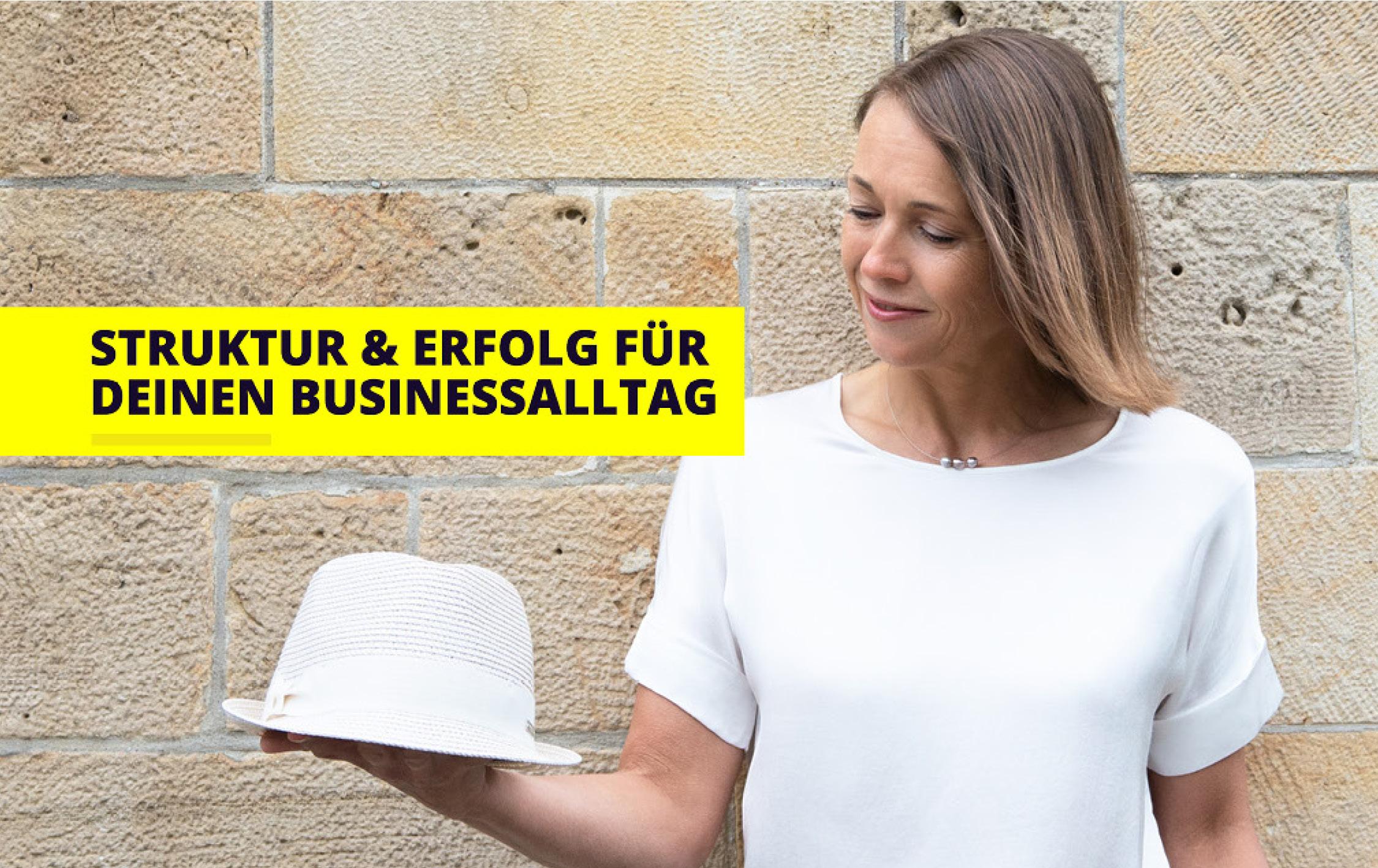 Annett Tschierschke- Johne, Klarheit und Struktur im Business